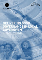 Delivering Good Governance in Local Government: Framework