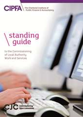 Standing Guide to the Commissioning of Local Authority Work and Services 201314 Subscription