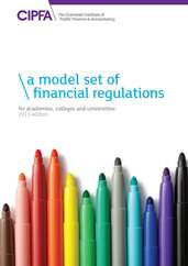 A Model Set of Financial Regulations for Academies Colleges and Universities 2013 Edition Book