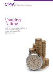 Buying Time A CIPFA Pensions Panel Guide to Procuring Efficiency in Public Sector Pensions Administration