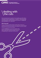 Dealing with the Cuts flyer front cover