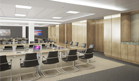 Mansell Street Council Chamber artist's impression