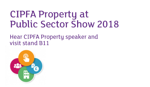 CIPFA Property at Public Sector Show 2018