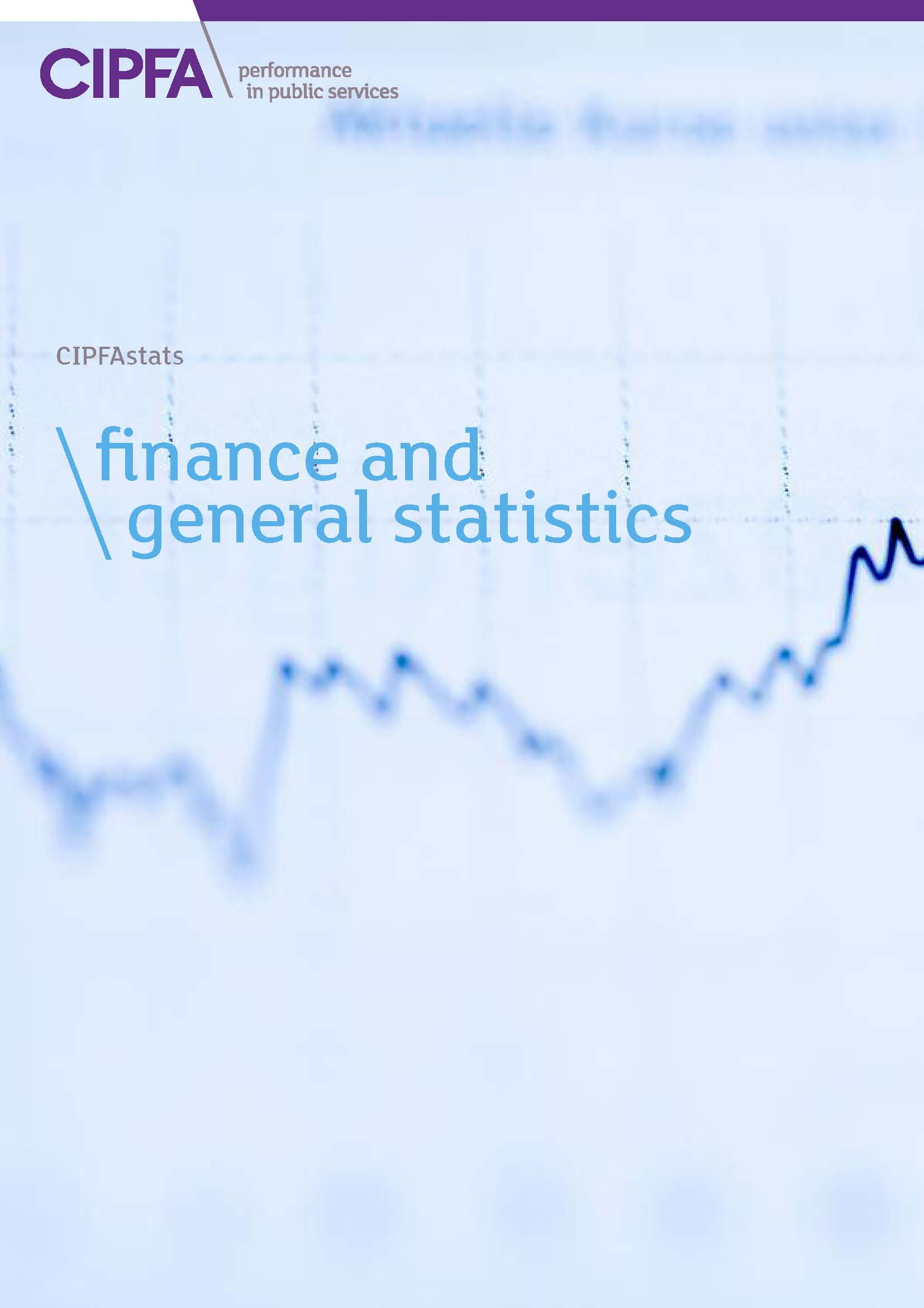 Finance and general statistics front cover