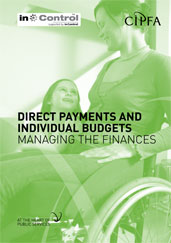 Direct Payments and Individual Budgets Managing the Finances
