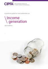 A Practical Guide for Local Authorities on Income Generation front cover