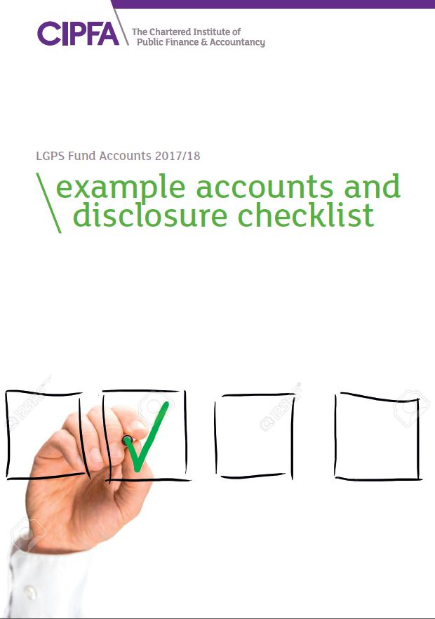 LGPS example accounts and checklist cover