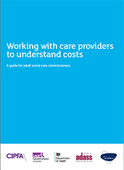 Working with Care Providers to Understand Costs
