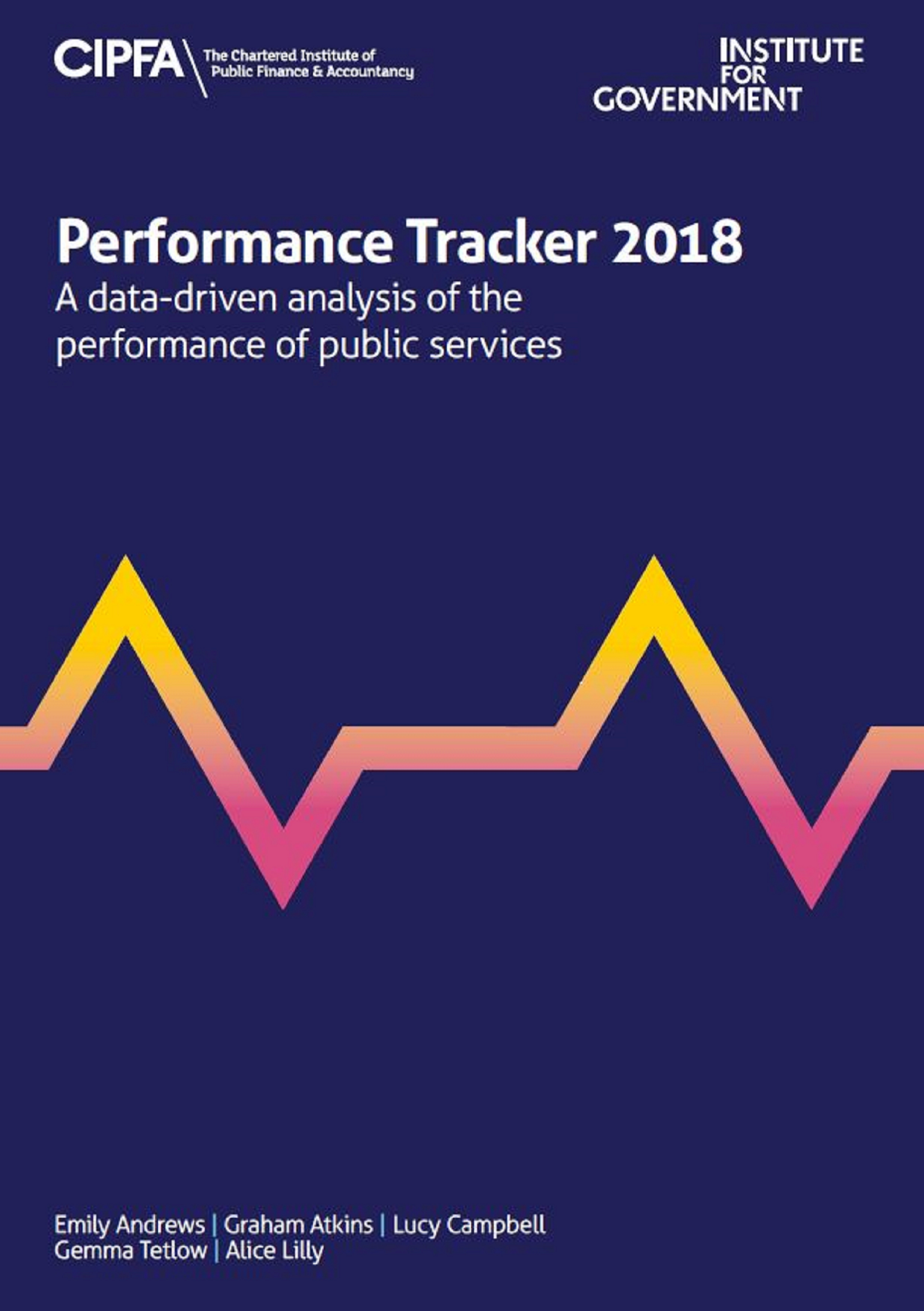 Performance Tracker 2018 cover