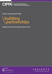 Building partnerships - devolution summit 2015