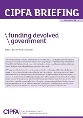 CIPFA_briefing_funding_devolved_government2014