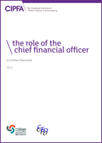 Front cover of Role of the CFO in Further Education